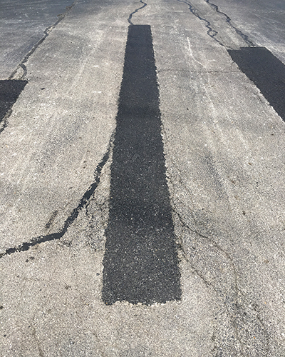 asphalt crack filling materials