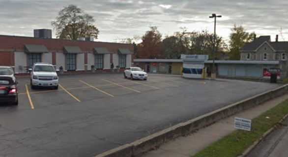 We did this parking lot maintenance in Morton, IL - Perdue Pavement Solutions